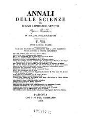 Annali Delle Scienze Del Regno Lombardo-Veneto Opera Periodica Di Alcuni Collaborati: Volume 26