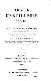 Traité d'artillerie navale ... Traduit ... avec des notes ... par A. F. E. Charpentier