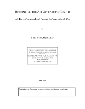 Rethinking the Air Operations Center PDF