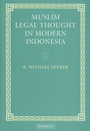 Muslim Legal Thought in Modern Indonesia PDF