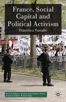 France  Social Capital and Political Activism PDF