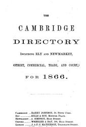 The Cambridge directory  Mathiesons  Cambridge directory  including Ely and Newmarket PDF