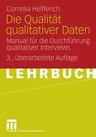 Die Qualit  t qualitativer Daten PDF