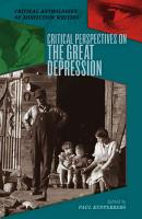 Critical Perspectives on the Great Depression PDF