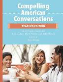 Compelling American Conversations   Teacher Edition PDF