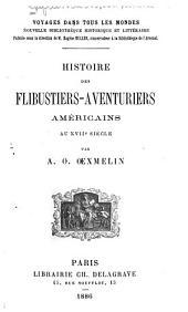 Histoire des flibustiers-aventuriers américains au XVIIe siècle
