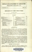 Research in Farm Structures