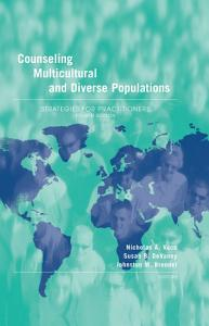 Counseling Multicultural and Diverse Populations Book