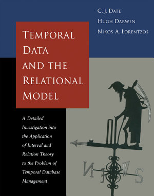 Temporal Data and the Relational Model PDF