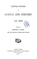 Annual Record of Science and Industry PDF