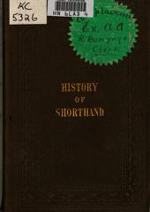 A History of Shorthand