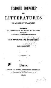 Histoire comparée des littératures espagnole et française ...