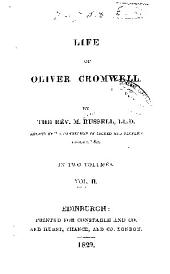 Life of Oliver Cromwell: Volume 2