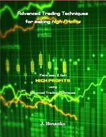 Advanced Trading Techniques for making High Profits PDF