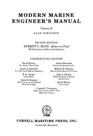 Modern Marine Engineer s Manual