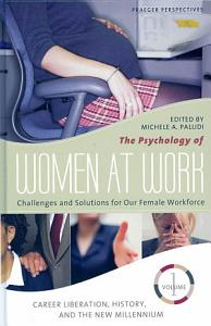 The Psychology of Women at Work Book
