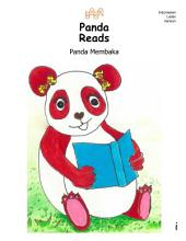 Panda Reads Panda Membaka Indonesian Version