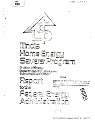 Illinois Home Energy Savers  Program PDF