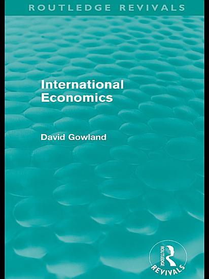 International Economics  Routledge Revivals  PDF
