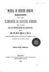 Elementos de derecho romano