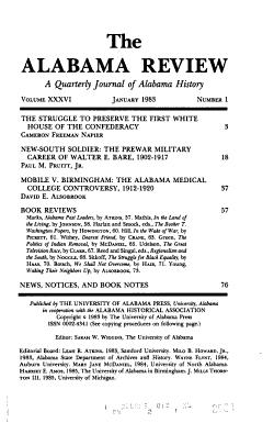 The Alabama Review PDF