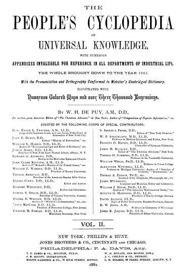People s Cyclopaedia of Universal Knowledge PDF