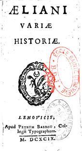 Aelani Variae historiae