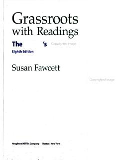 Grassroots with Readings Book