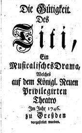 La clemenza di Tito: Dramma per musica