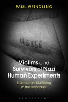 Victims and Survivors of Nazi Human Experiments PDF