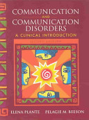 Communication And Communication Disorders Book PDF