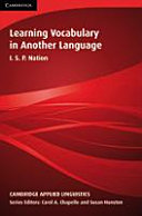 Learning Vocabulary in Another Language PDF