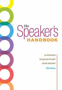 The Speakers Handbook + Pocket Guide to Apa Style, 6th Ed. + Mindtap Speech, 1-term, 6 Months Printed Access Card for the Speakers Handbook, 12th Ed.