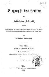 Biographisches Lexicon des Kaiserthums Österreich, enthaltend die Lebensskizzen der denkwürdigen Personen, welche 1750 bis 1850 im Kaiserstaate und in seinen Kronländern ... gelebt haben: Band 12