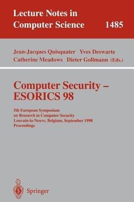 Computer Security - ESORICS 98