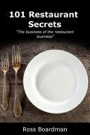 101 Restaurant Secrets
