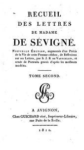Recueil des lettres de Madame de Sévigné: Volume2
