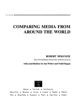 Comparing Media from Around the World PDF