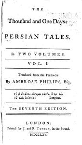 The Thousand and One Days: Persian Tales ...
