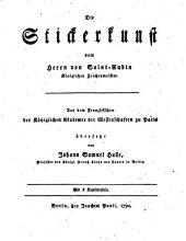 Die Stickerkunst vom Herrn von Saint-Aubin ... Aus dem Französischen ... übersetzt von Johann Samuel Halle: 18