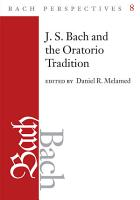 Bach Perspectives  Volume 8 PDF