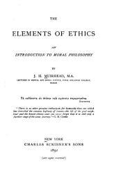 The Elements of Ethics PDF