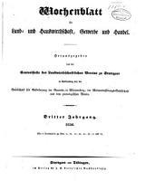 Wochenblatt f  r Land  und Hauswirthschaft  Gewerbe und Handel PDF