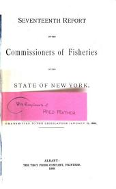 Report of the Commissioners of Fisheries of the State of New York: Volume 17, Part 1889