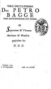 Caroli à Linné ... Amoenitates academicae ...: Volumen sextum