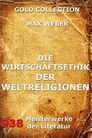 Die Wirtschaftsethik der Weltreligionen PDF