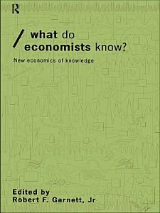 What do Economists Know  PDF