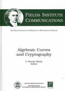 Algebraic Curves and Cryptography PDF