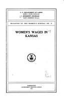 Women s Wages in Kansas PDF