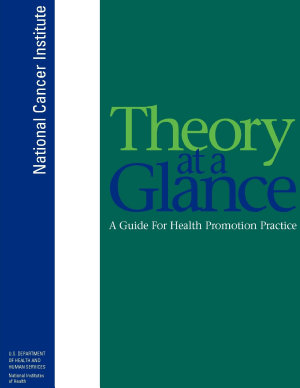 Theory at a Glance  A Guide for Health Promotion Practice  Second Edition